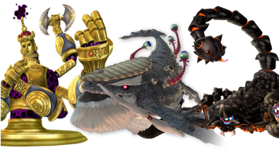 The best Skyward Sword bosses look like they stepped out of the best Saturday morning cartoons...